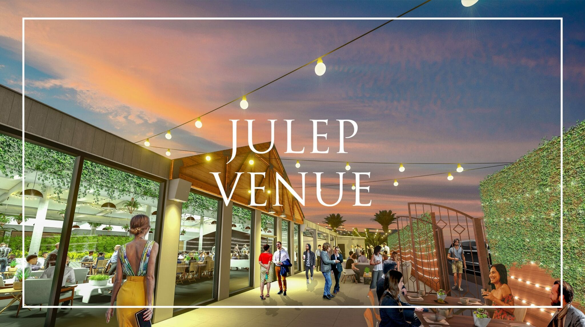 Julep outdoor event venue with patio | Snake Oil Cocktail Co.