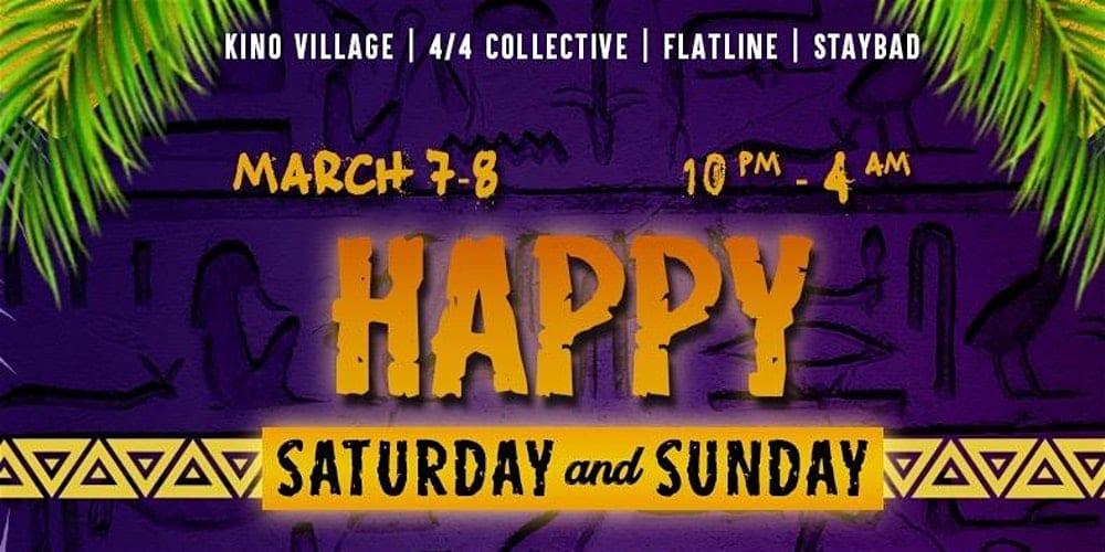 Happy Saturday & Sunday Poster