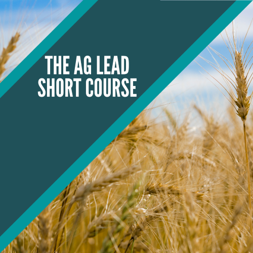 THE AG LEAD SHORT COURSE BY SARAH BETH AUBREY