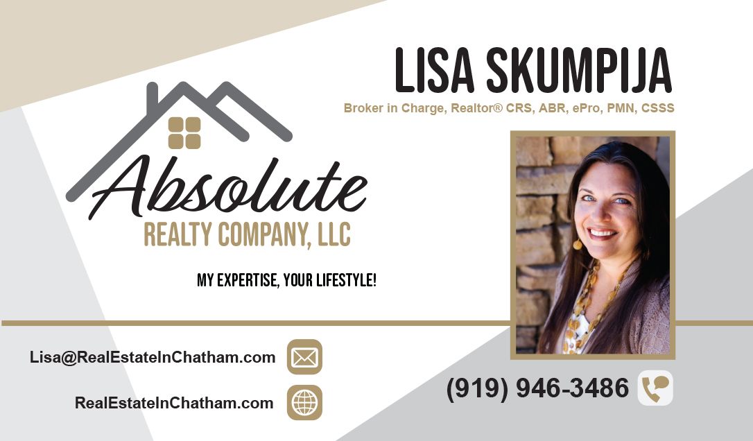 Lisa Skumpija Business Card