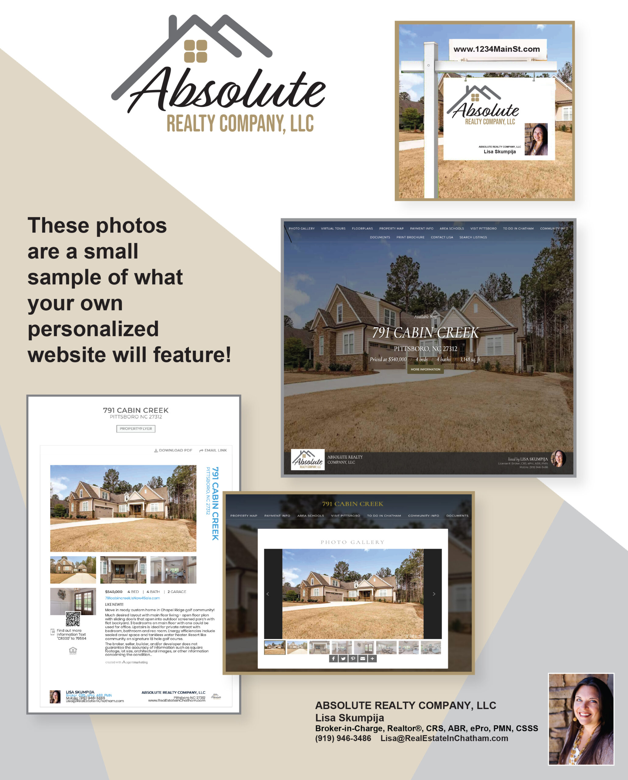 Absolute Realty Company Flyer