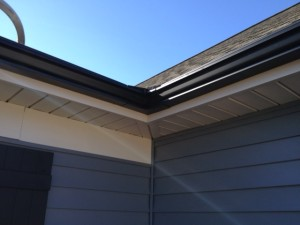 gutter guard profile