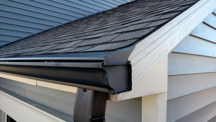 Gutter Guard on Raleigh Home in NC