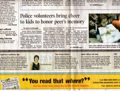 Arizona Republic December 2005