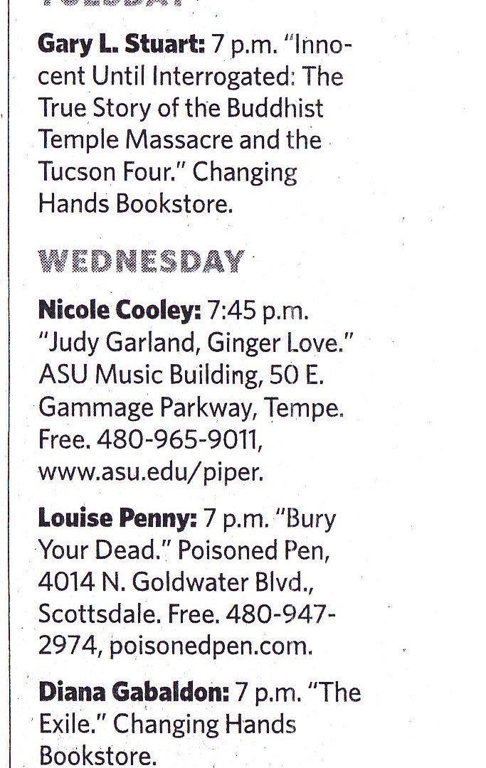 Arizona Republic October 2010
