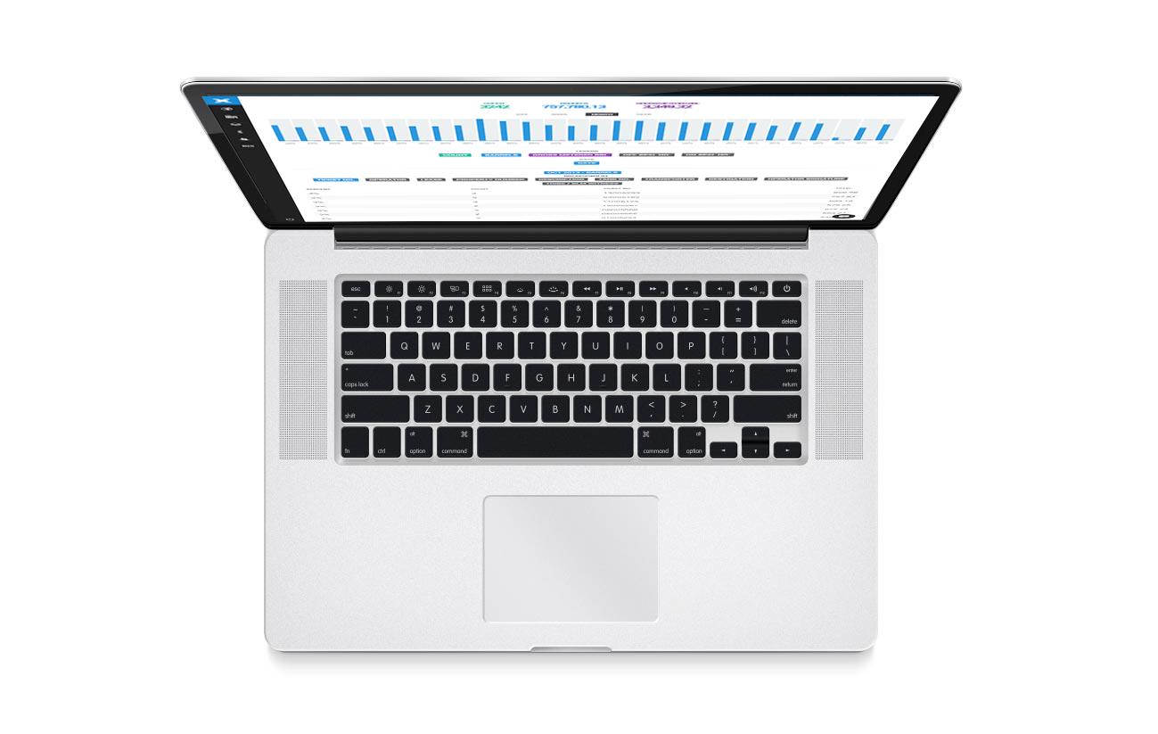 photo of xtiri on a laptop