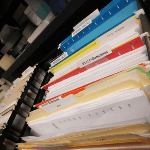 Photo of Account Files