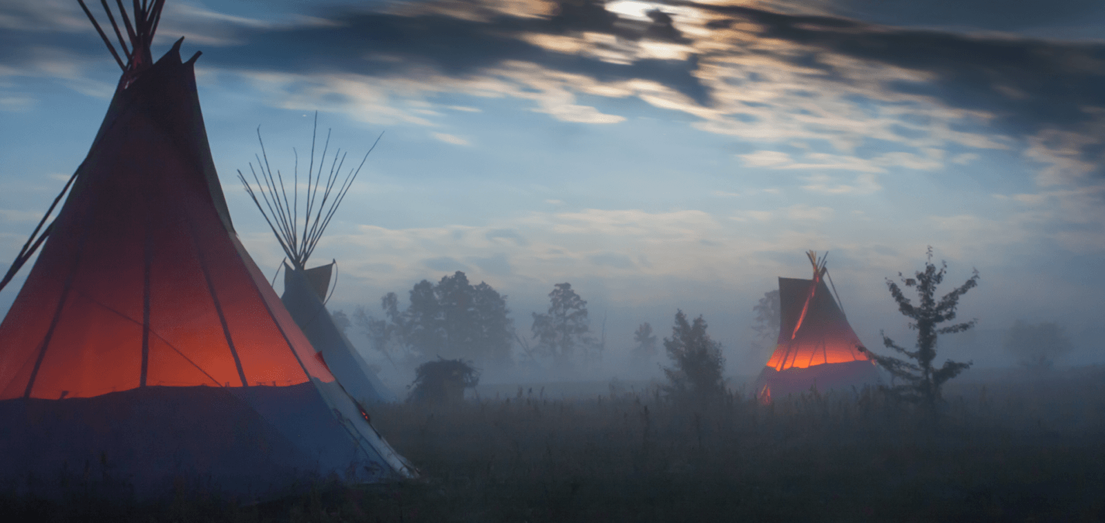 Photo of teepees