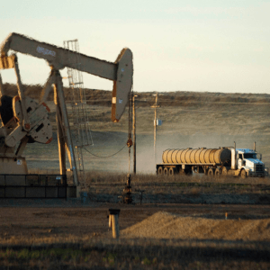 Photo of Oil Well on Tribal Lands