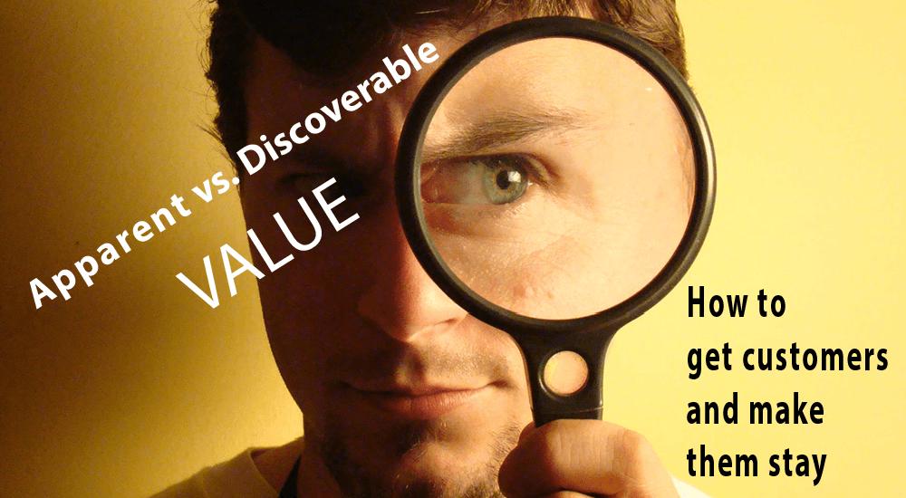 Apparent vs Discoverable Value