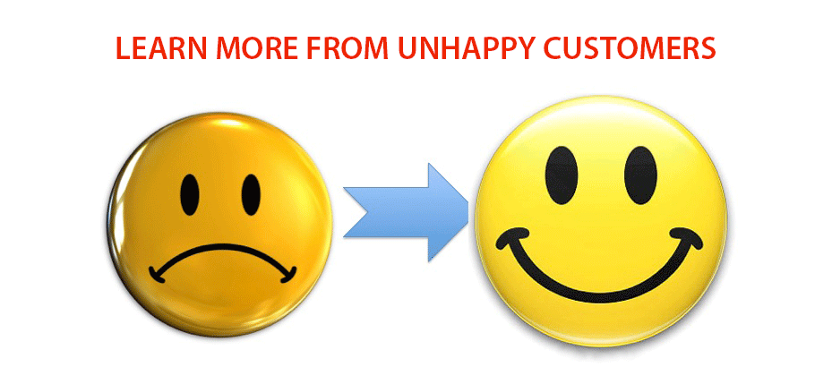 Learning From Unhappy Customers