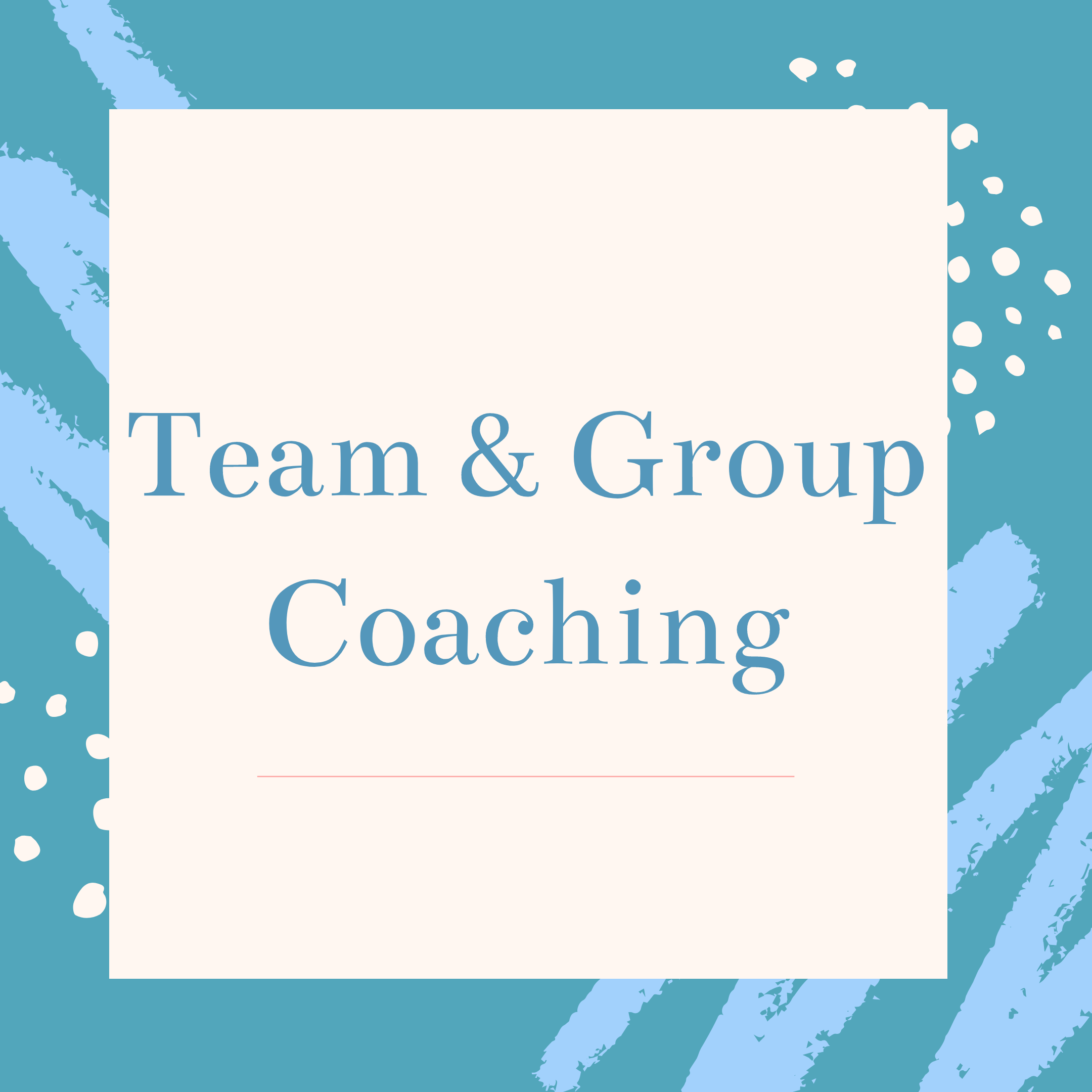 Team and group nutrition coaching