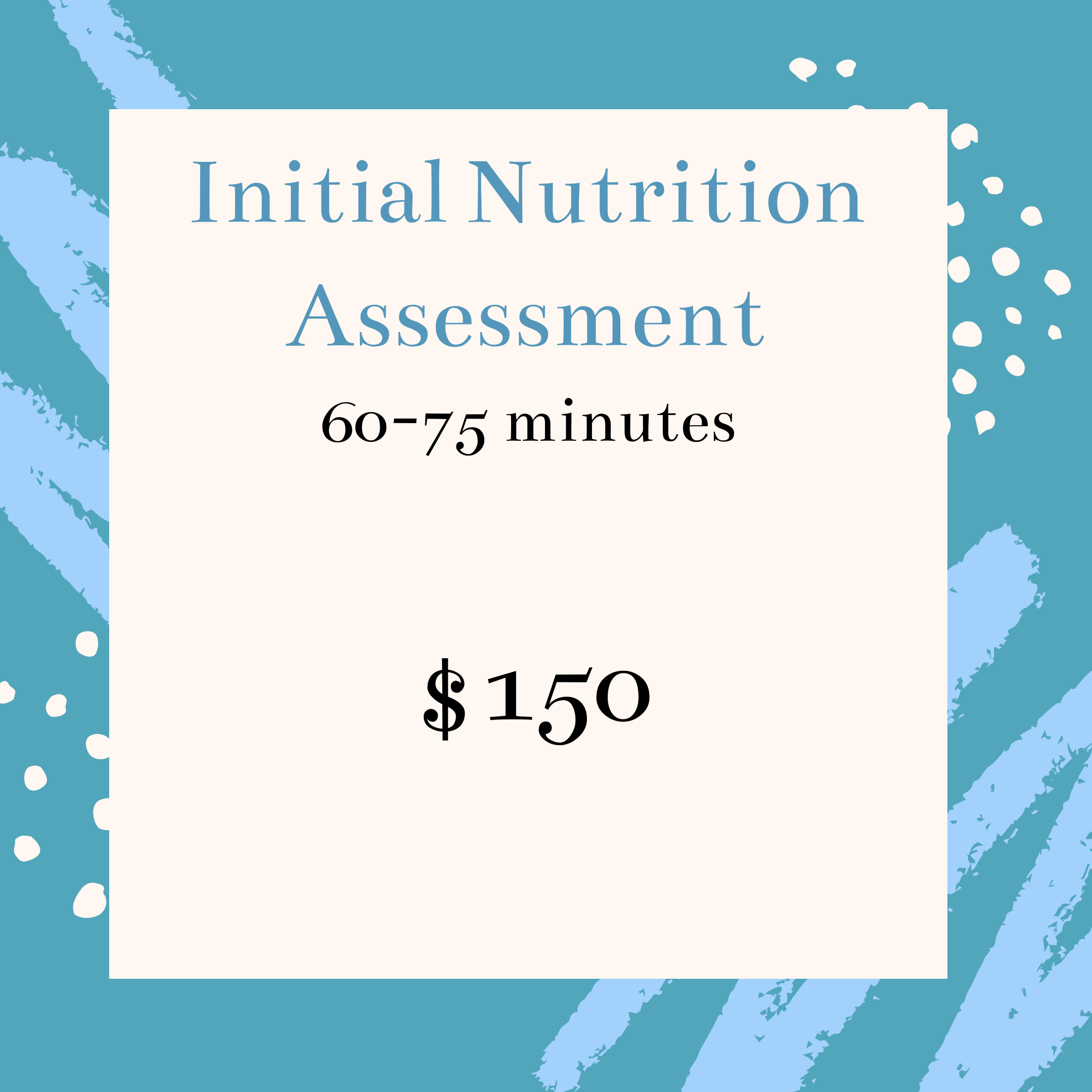 Initial Nutrition Counseling