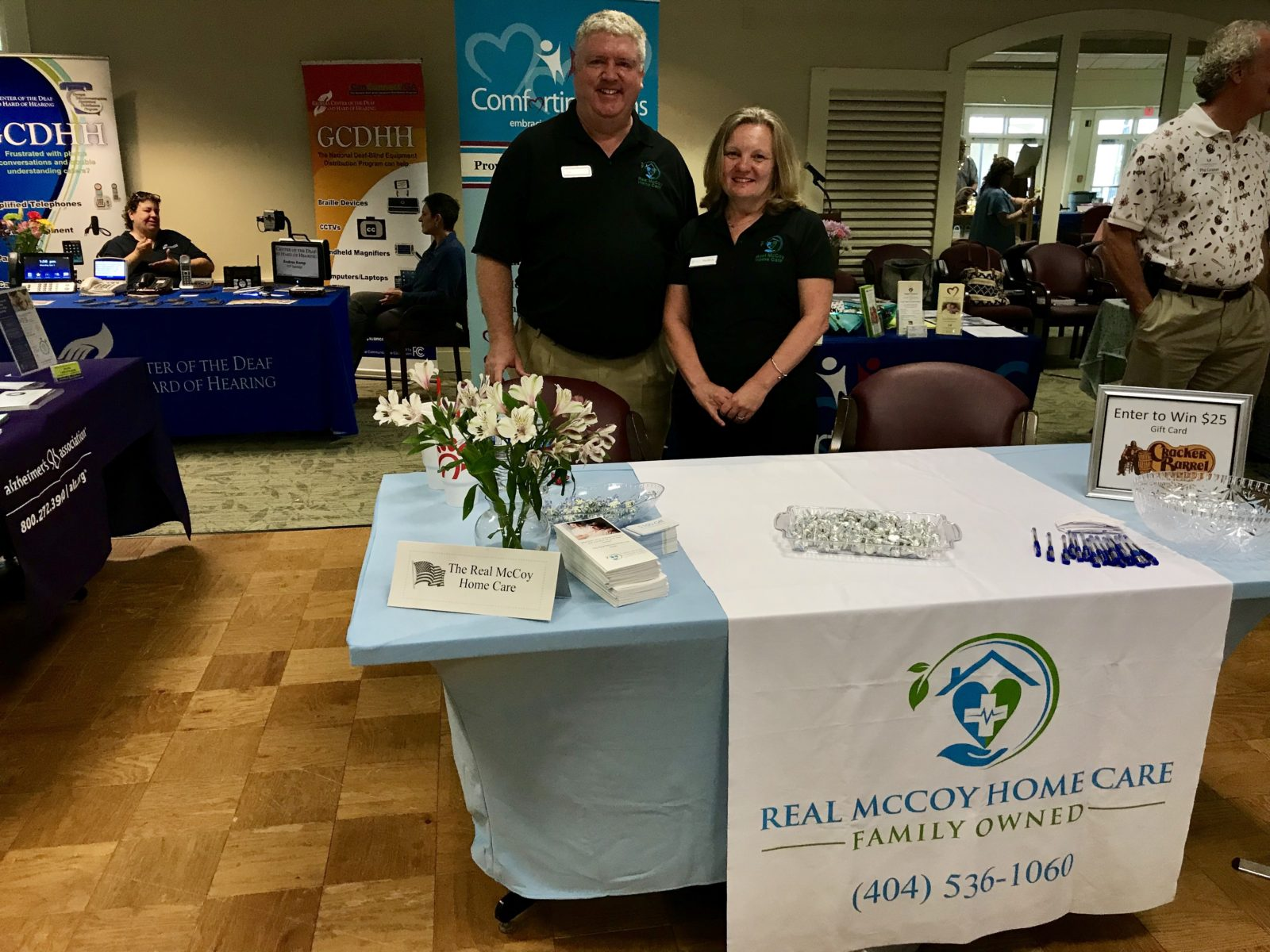 Home Care Services East Cobb GA - Real McCoy Home Care Celebrates at East Cobb Community Fair