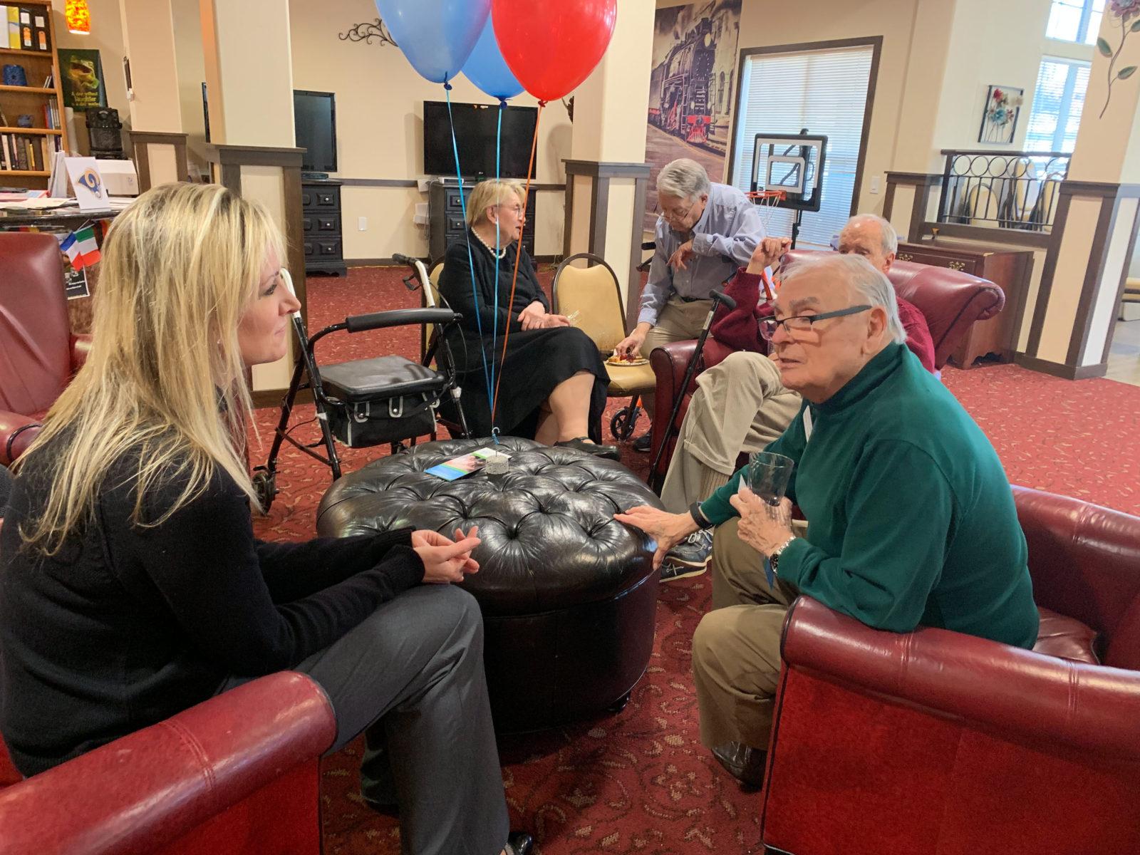 Home Care Alpharetta GA - Celebrating International Night with the Residents of Cottonwood Estates