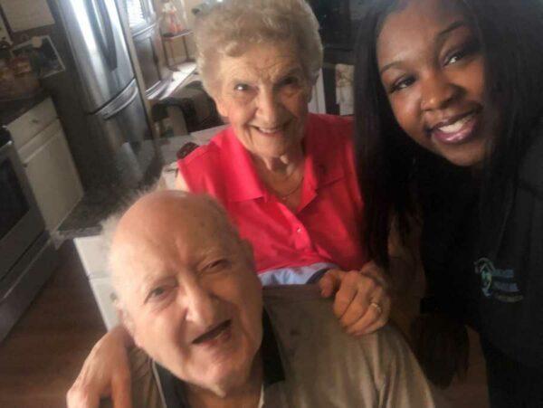 Senior Care Alpharetta GA - Happy 90th Birthday Nick