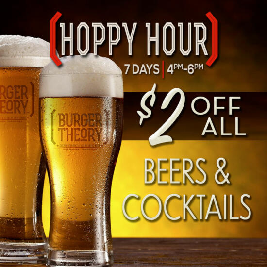 Burger Theory Nampa Idaho - Happy Hour!!!