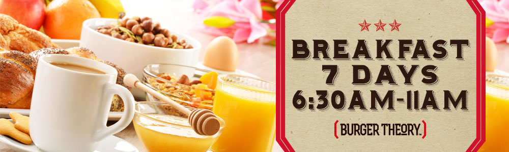 Great breakfast starting at 6:30am... Served until 11am daily.