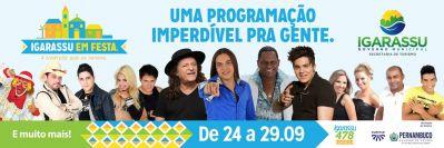 Igarassu :atrações nacionais na Festa de Cosme e Damião 2013.