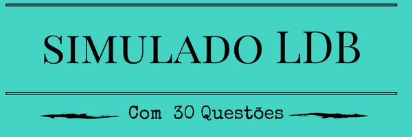 Simulado com 30 Questões de LDB