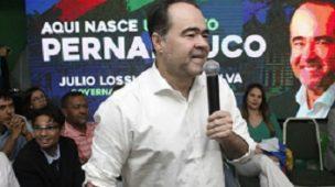 Julio Lóssio ex-prefeito de Petrolina candidato da Rede ao governo de Pernambuco.