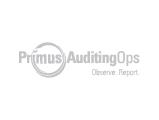 Primus AuditingOps Logo, grey