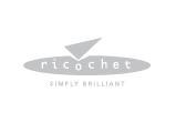 Ricochet Logo, grey