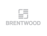Brentwood Industries Logo, grey