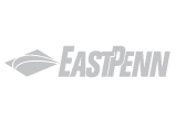 East Penn Manufacturing Logo, grey