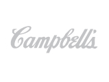 Campbell's Soup Logo, grey, packaging