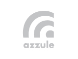 Azzule Systems Logo, grey