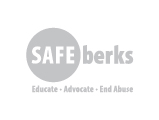 Safe Berks Logo, grey