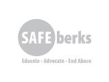 Safe Berks Logo, grey