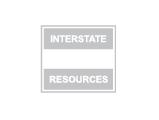 Interstate Resources logo, grey