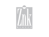 Znk Restaurant Logo, grey