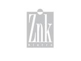 Znk Restaurant Logo, grey