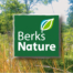 Berks Nature Logo graphic with a field