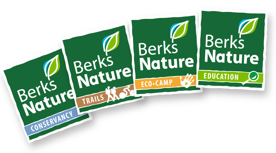Berks Nature Logos, Conservancy, Trails, Eco-Camp and Education