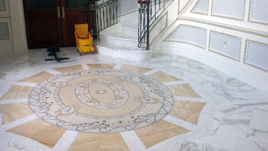 Jersey Steamer Restores/Resurfaces Your Natural Stone Foyers and Lobbies