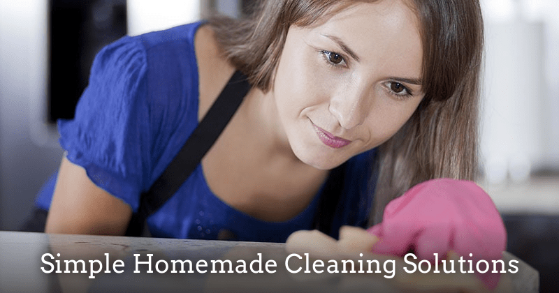 Simple Homemade Cleaning Solutions