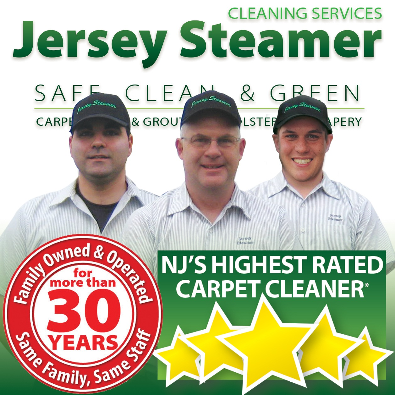 Steam Cleaning Services near me in Neptune, NJ 07753