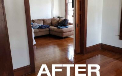Recently Cleaned: Hardwood Floors in Allenwood NJ