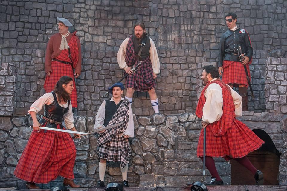 Sword Captain and fight choreographer in Lucia di Lammermoor