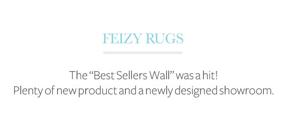 Feizy Rugs High Point Market Highlights