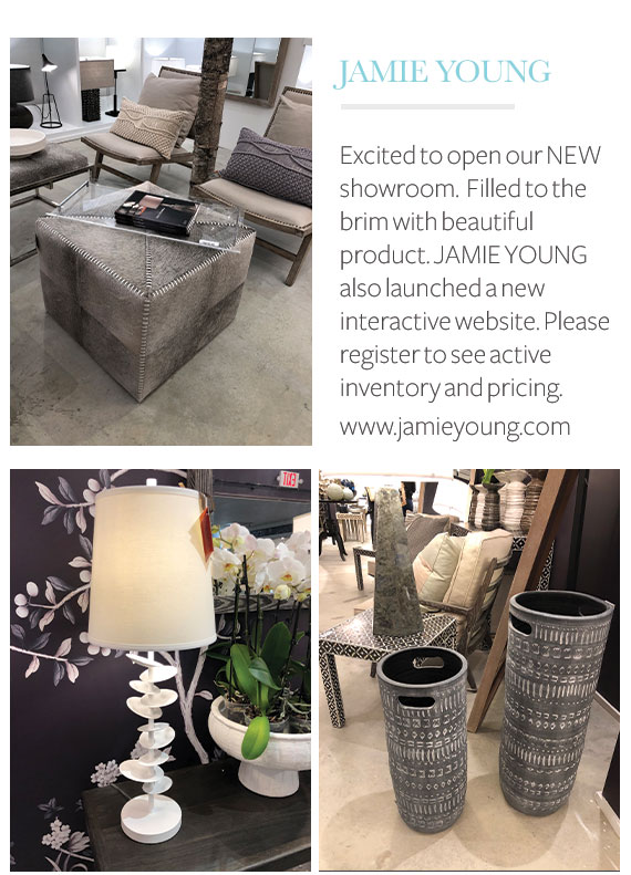 Jamie Young High Point Market Highlights