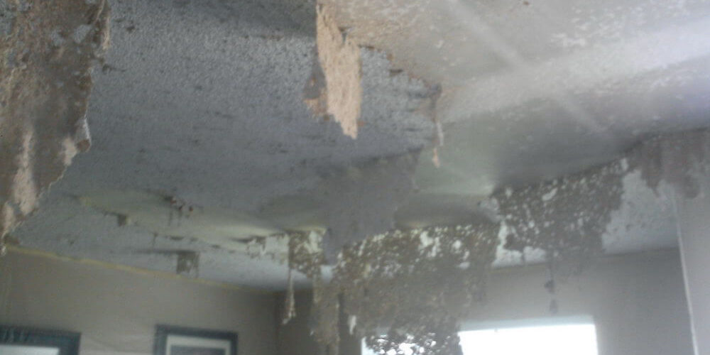 painted popcorn ceiling removal (1)