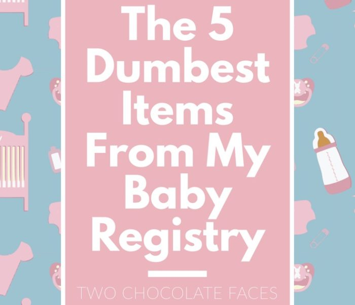 The 5 Dumbest Items from My Baby Registry