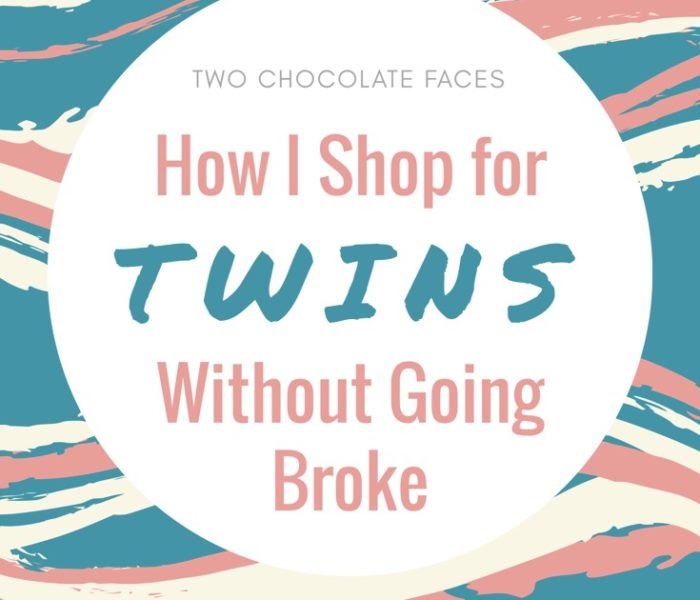 How I Shop for Twins Without Going Broke