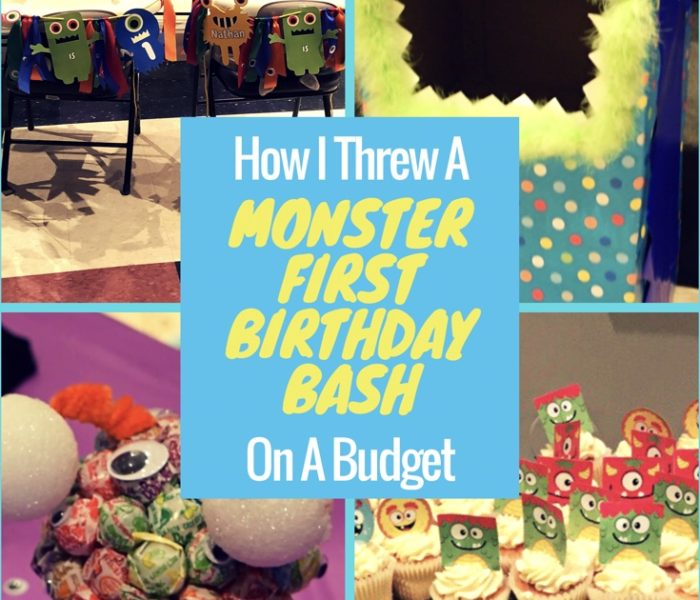 How I Threw A Monster First Birthday Bash on a Budget