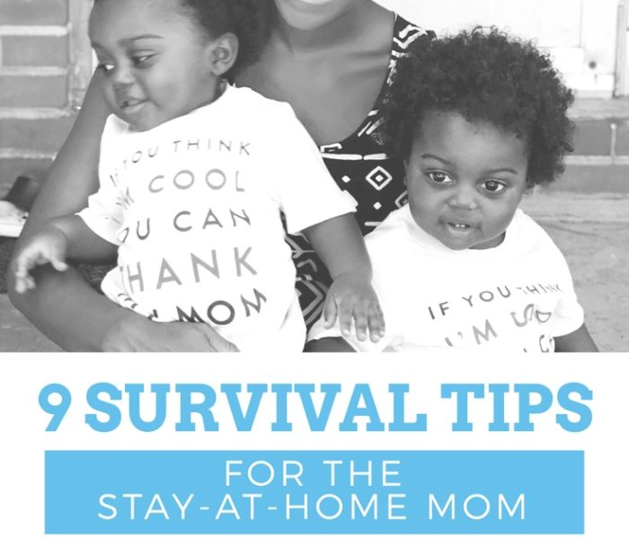 9 Survival Tips for the Stay-At-Home Mom
